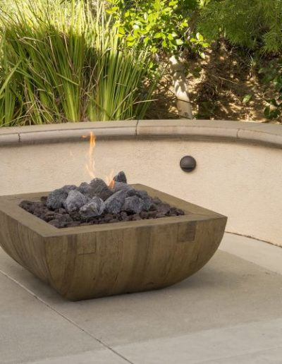 Reclaimed Wood Fire Bowl